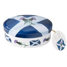 Scottish Saltire Vanilla Fudge Tin - 120g