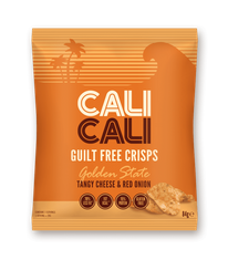 Cali Cali Tangy Cheese & Red Onion Crisps - 84g