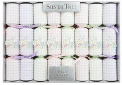 Silver Tree Gingham Garden Hare Crackers 8 pack