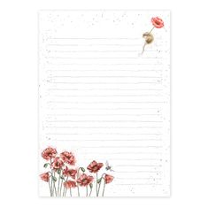 Mouse and Poppy Jotter Pad