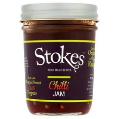 Stokes Chilli Jam - 250g - BB Nov 2020 - 2 In Stock