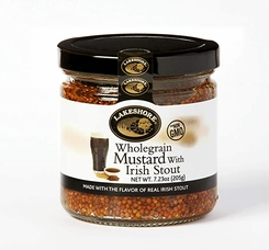 Lakeshore Wholegrain Mustard with Irish Stout - 205g - Sold Out