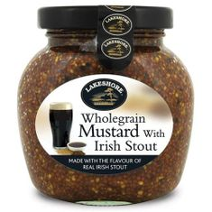Lakeshore Wholegrain Mustard with Irish Stout 205g - Sold Out