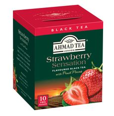 Ahmad Strawberry Sensation - 10ct Bags - Sold Out