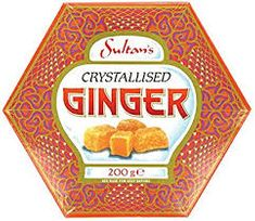 Sultan's Crystallised Ginger - 200g - Sold Out