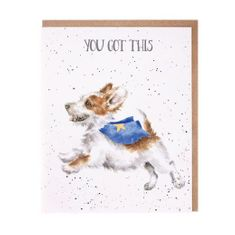 'Super Dog' Card - 4 In Stock
