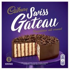 Cadbury Swiss Gateau - 355g - Sold Out