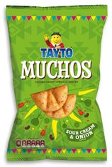 Tatyo Muchos Sour Cream & Onion - 180g - Sold Out