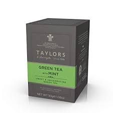 Taylors of Harrogate Green Tea with Mint - 20ct Bags