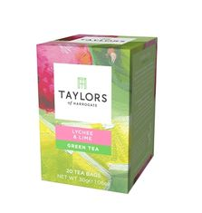 Taylors of Harrogate Lychee & Lime - 20ct Bags - Sold Out