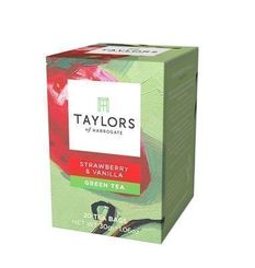 Taylors of Harrogate Strawberry & Vanilla - 20ct Bags - Sold Out