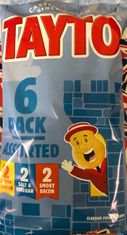 Tayto NI Assorted 6 Pack - 150g  - Sold Out
