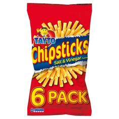 Tayto Chipsticks 6 pack - 168g - Sold Out