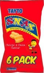 Tayto Snax 6 pack - 102g - Sold Out
