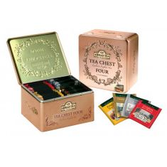 Ahmad Tea Chest Four - 40ct Bags- 2 In Stock