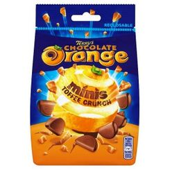 Terry's Chocolate Orange Minis Toffee Crunch Pouch - 125g - Sold Out