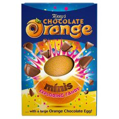 Terry's Chocolate Orange Exploding Candy Minis Large Egg - 266g - sold out 2020