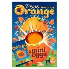 Terry's Orange Easter Egg and Mini Eggs - 260g - Sold Out 2021