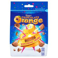 Terry's Chocolate Orange Minis Exploding Candy Pouch - 125g- Sold Out