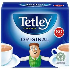Tetley Original - 80ct Bags - Sold Out