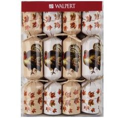 Thanksgiving Turkey Crackers - 8 pack
