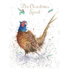 'The Christmas Spirit' Card - 4 in stock