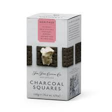 The Fine Cheese Co. Charcoal Squares - 140g - 3 In Stock