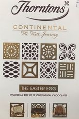 Thornton's Continental The Taste Journey Easter Egg - 387g - Sold Out  2020
