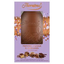 Thorntons Toffee, Fudge, & Caramel Collection Egg - 203g- sold out 2020
