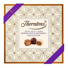 Thornton's White, Milk, & Dark Snowflake & Snowball Collection - Not Available 2019