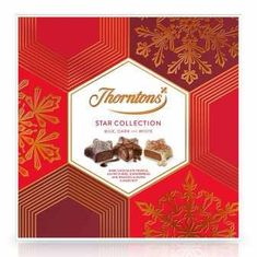 Thorntons Milk, Dark & White Star Collection - 176g - Not Available 2019