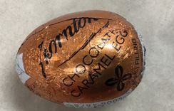 Thornton's Chocolate Caramel Egg Indiviudal - not available this year