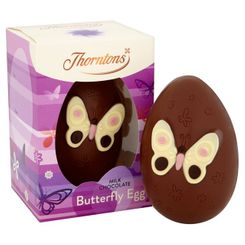 Thornton's Milk Chocolate Butterfly Egg - 149g - Sold Out 2020