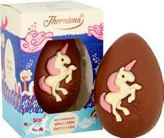 Thorntons Milk Chocolate Unicorn Egg - 151g - Sold Out 2020