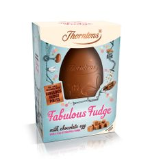 Thortons Fabulous Fudge Milk Chocolate Egg - not available this year
