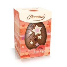 Thorton's Milk Chocolate Star Egg - not available this year