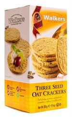 Walkers Three Seed Oat Crackers - 280g - Sold Out