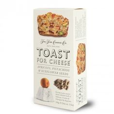 Toast for Cheese Apricots, Pistachios & Sunflower Seeds - 100g