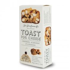 Toast for Cheese Cherries, Almonds & Linseeds - 100g