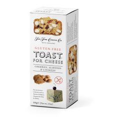 Toast for Cheese Cherries, Almonds & Linseeds - Gluten Free - 100g - 2 in stock