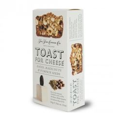 Toast for Cheese Dates, Hazelnuts and Pumpkin Seeds - 100g