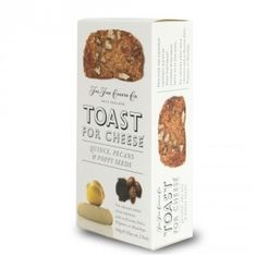 Toast for Cheese Quince, Pecan & Poppy Seeds - 100g