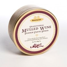 Simpkins Traditional Mulled Wine Travel Sweets - 200g