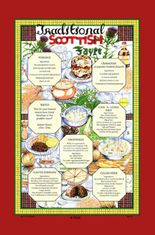 Traditional Scottish Fayre Tea Towel - Sold Out