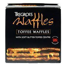 Tregroes Butter Toffee Waffles - 8pk - Sold Out
