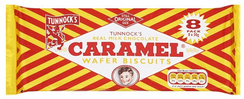Tunnock's Caramel Wafers Milk Chocolate - 8 pack - Sold out