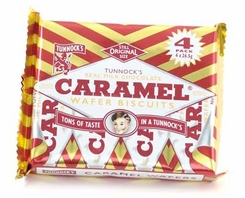 Tunnock's Caramel Wafers Milk Chocolate - 128g
