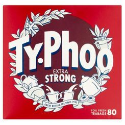 Typhoo Extra Strong - 80ct Bags - 4 In Stock
