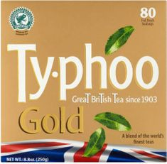 Typhoo Gold - 80ct Bags