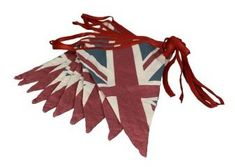 Union Jack Flag Bunting Retro Style - Sold Out